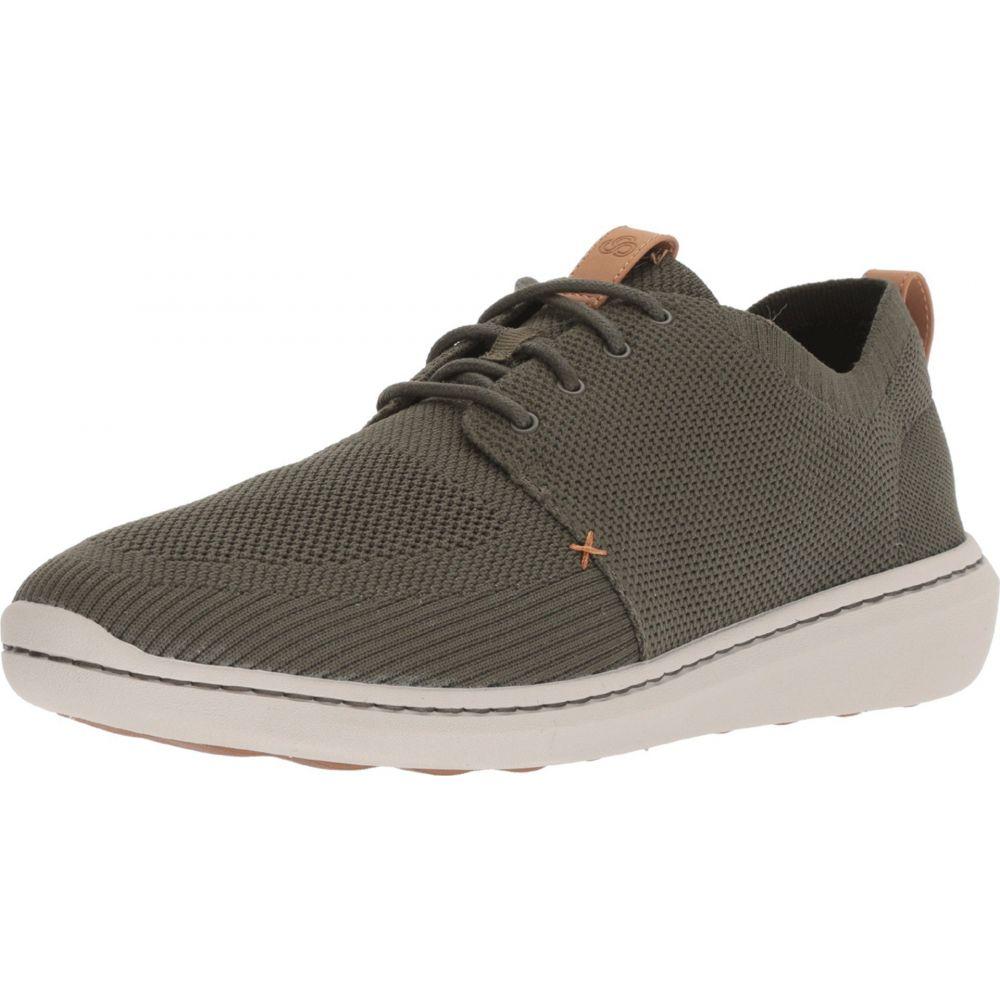 内祝い クラークス Clarks メンズ スニーカー シューズ 靴 Step Urban Mix Khaki Textile Knit Skynet Co Jp