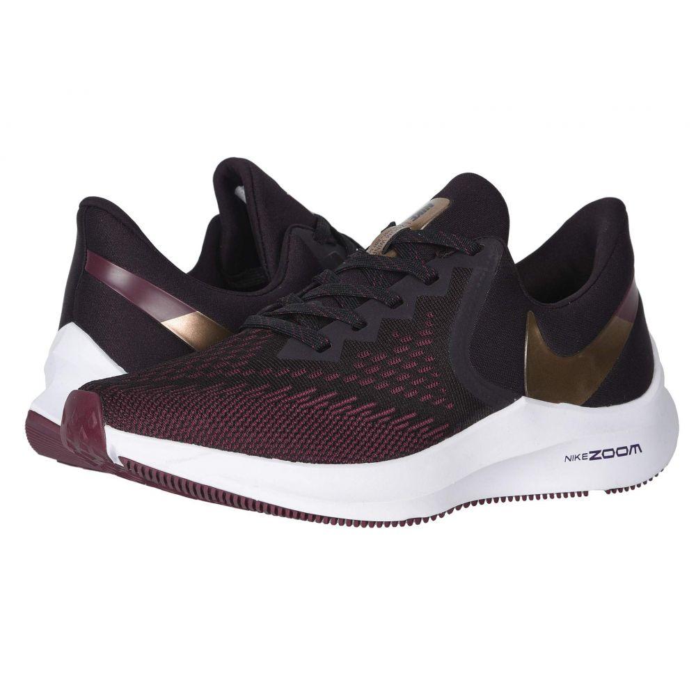 ナイキ Nike レディース ランニング・ウォーキング シューズ・靴【Zoom Winflo 6】Burgundy Ash/Metallic Copper/Team Red