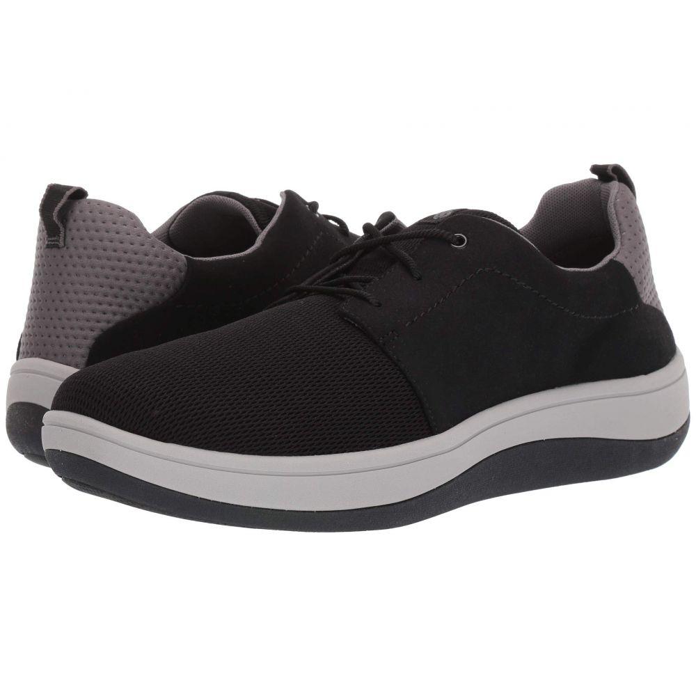 クラークス Clarks メンズ スニーカー シューズ・靴【Arla Free】Black Textile
