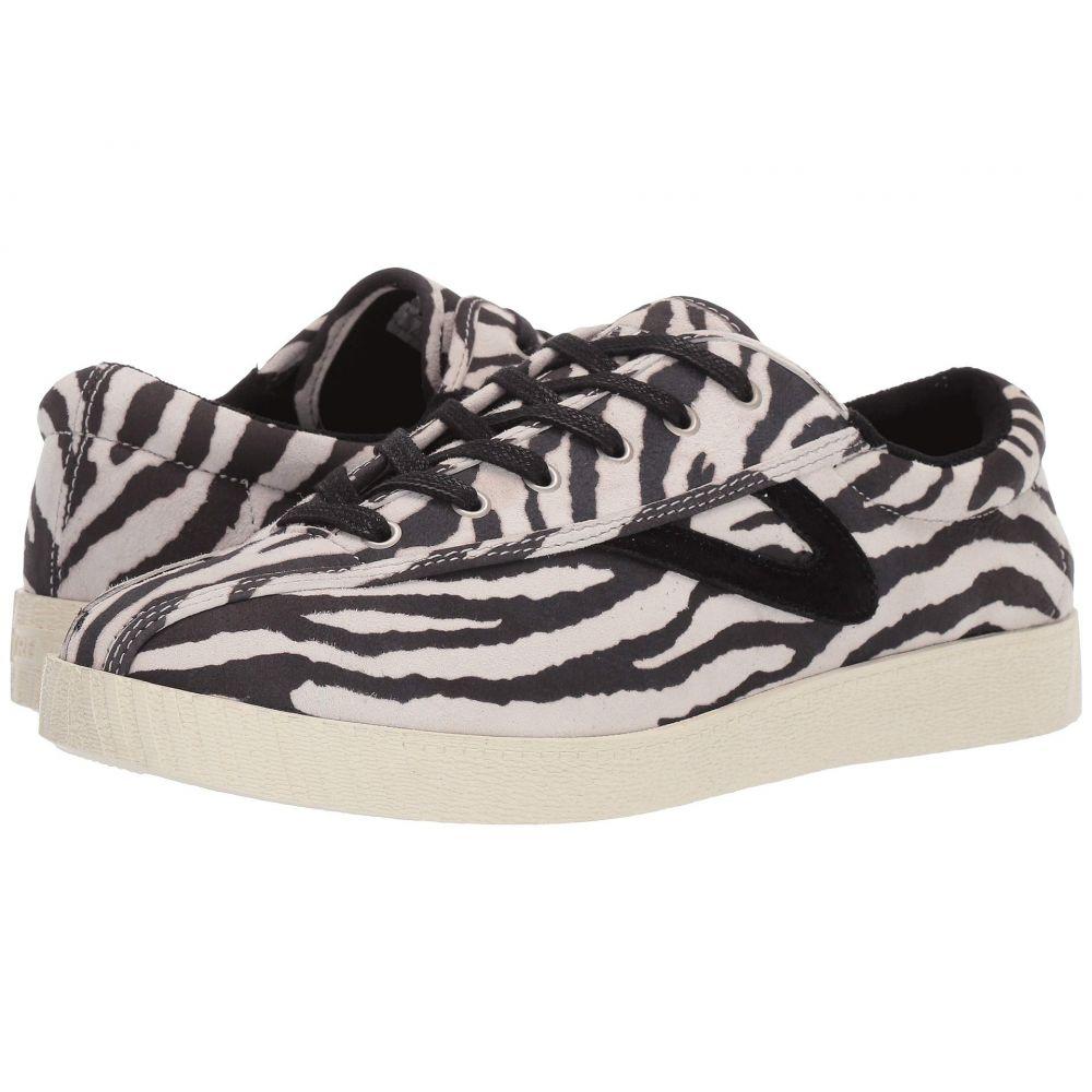 トレトン Tretorn レディース スニーカー シューズ・靴【Nylite 37 Plus】White/Black Zebra