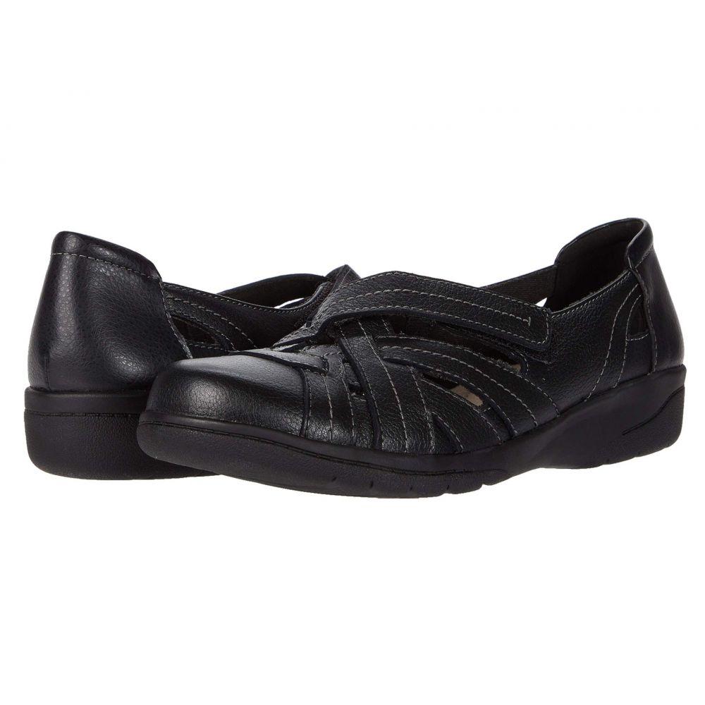 クラークス Clarks レディース ローファー・オックスフォード シューズ・靴【Cheyn Tulip】Black Leather