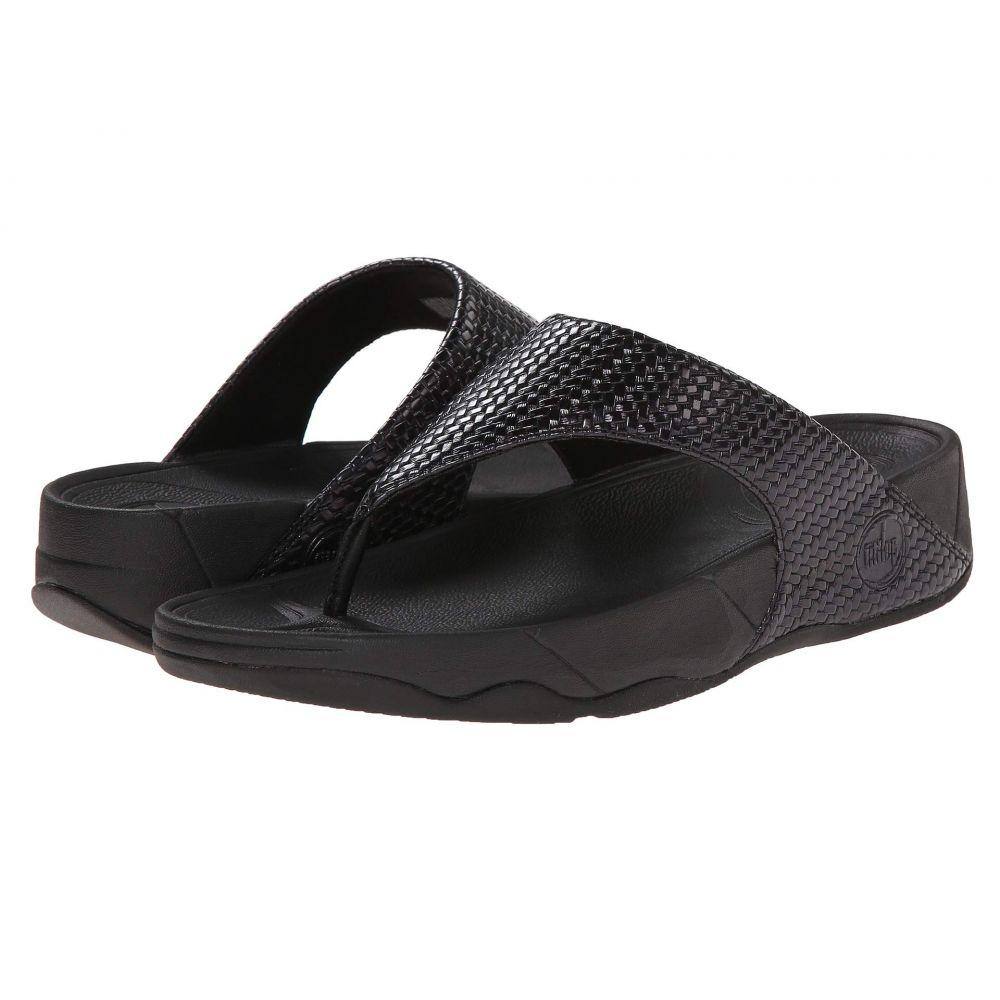フィットフロップ FitFlop レディース ビーチサンダル シューズ・靴【Lulu Weave】Black