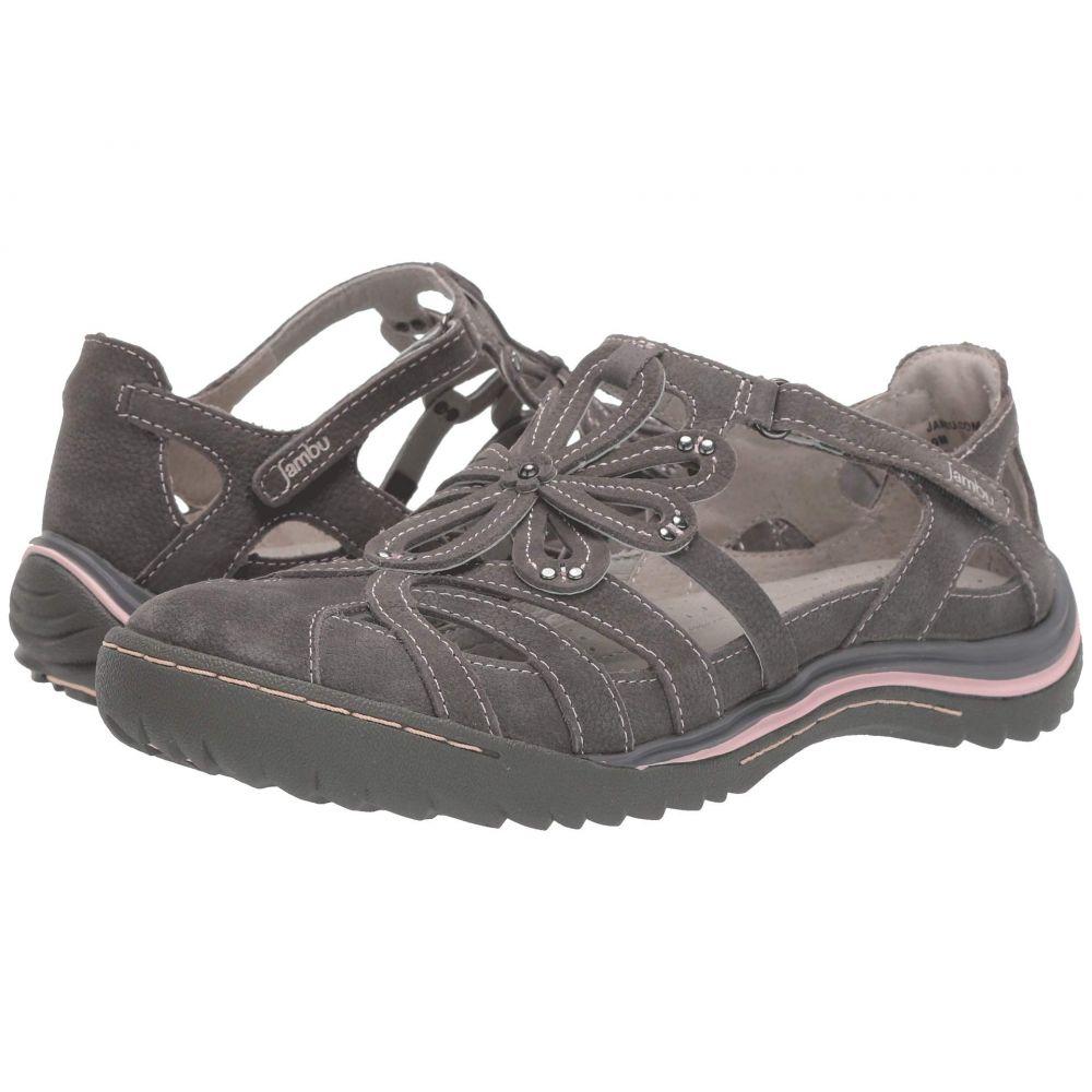 ジャンブー Jambu レディース サンダル・ミュール シューズ・靴【Abby】Charcoal
