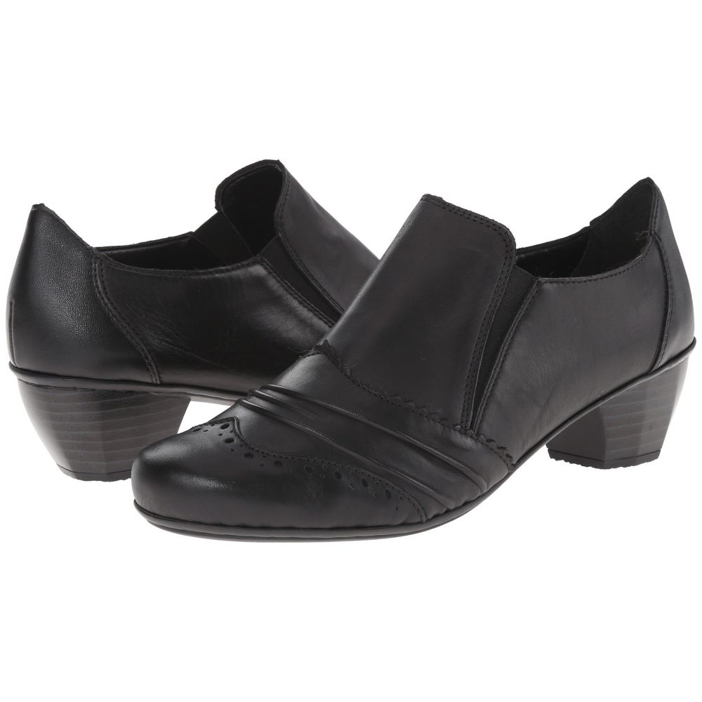 リエカー Rieker レディース ブーツ シューズ・靴【41730】Black Cristallo/Black Fino