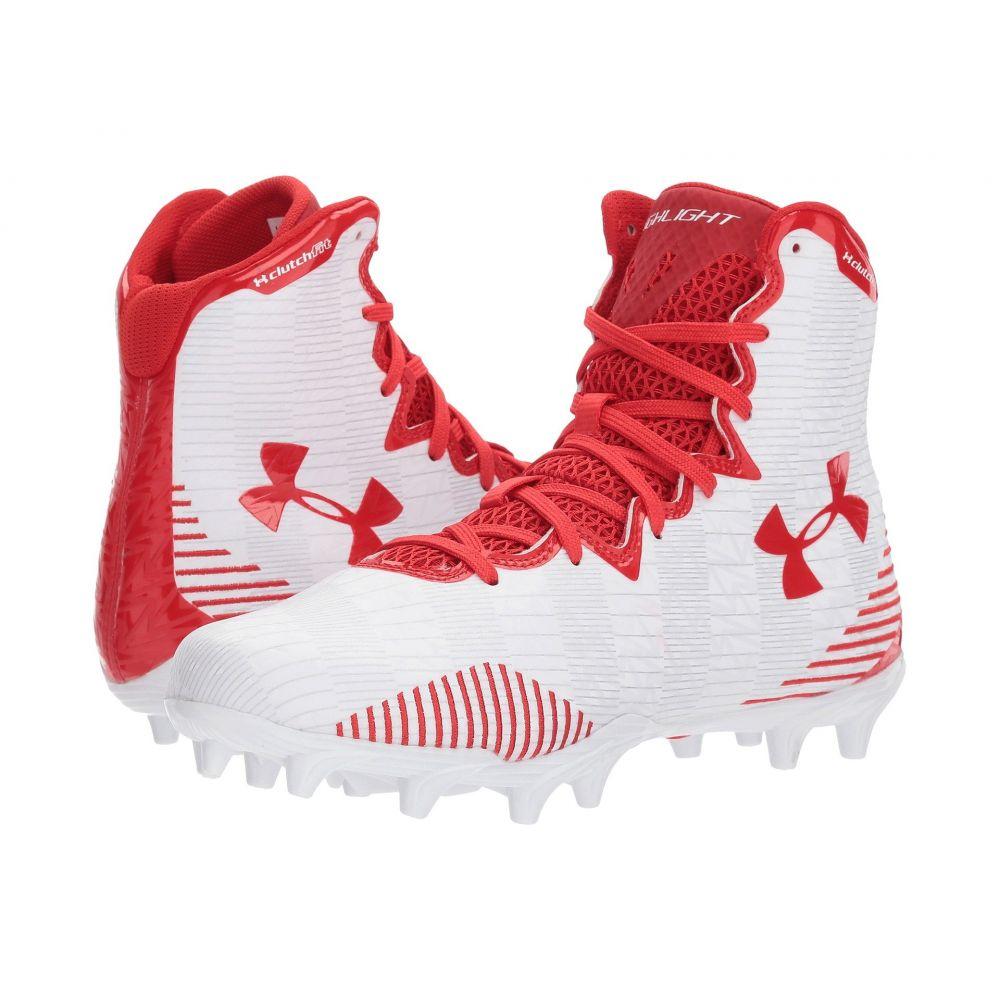 アンダーアーマー Under Armour レディース シューズ・靴 【UA LAX Highlight MC】White/Red