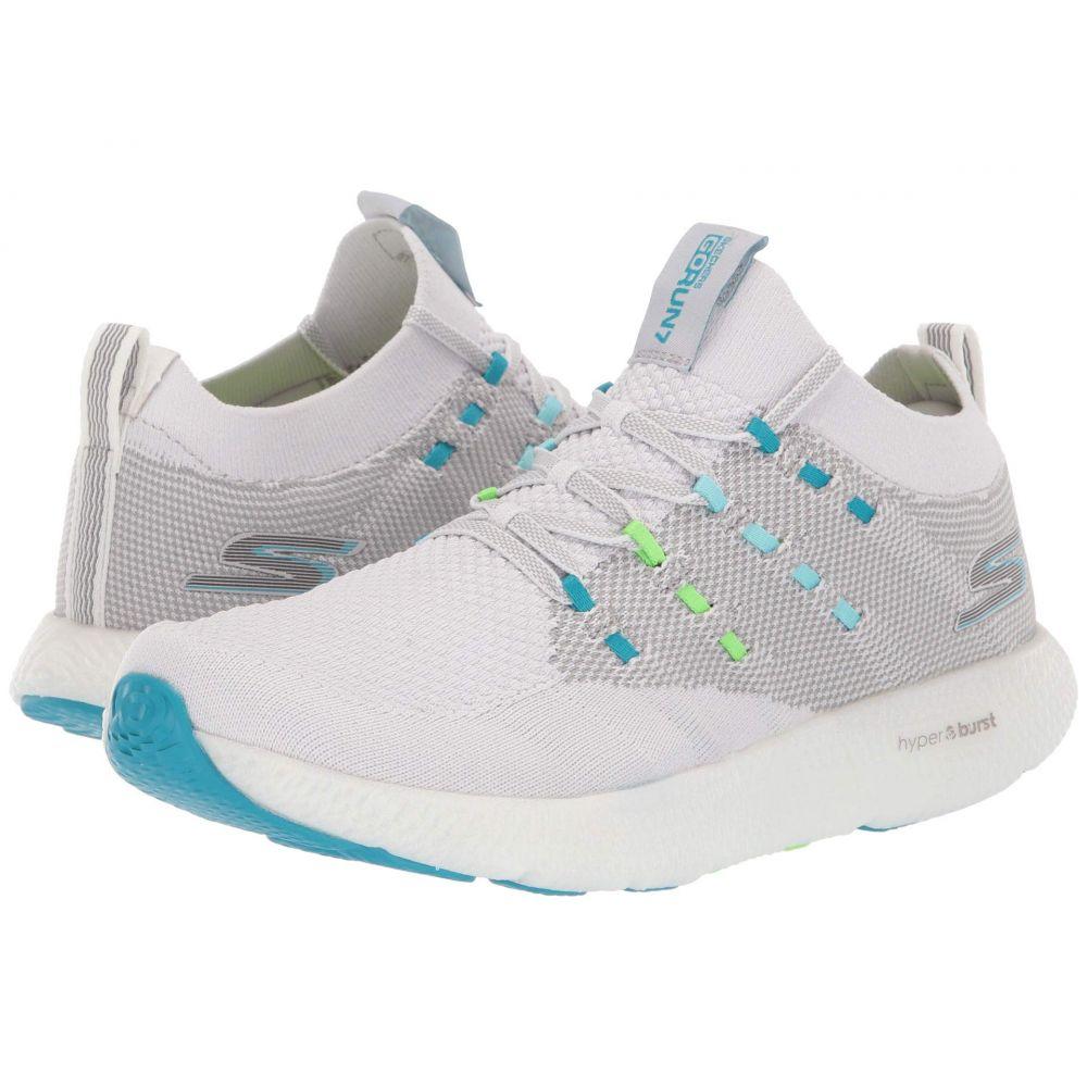 スケッチャーズ SKECHERS レディース ランニング・ウォーキング シューズ・靴【Go Run 7】Gray/Blue