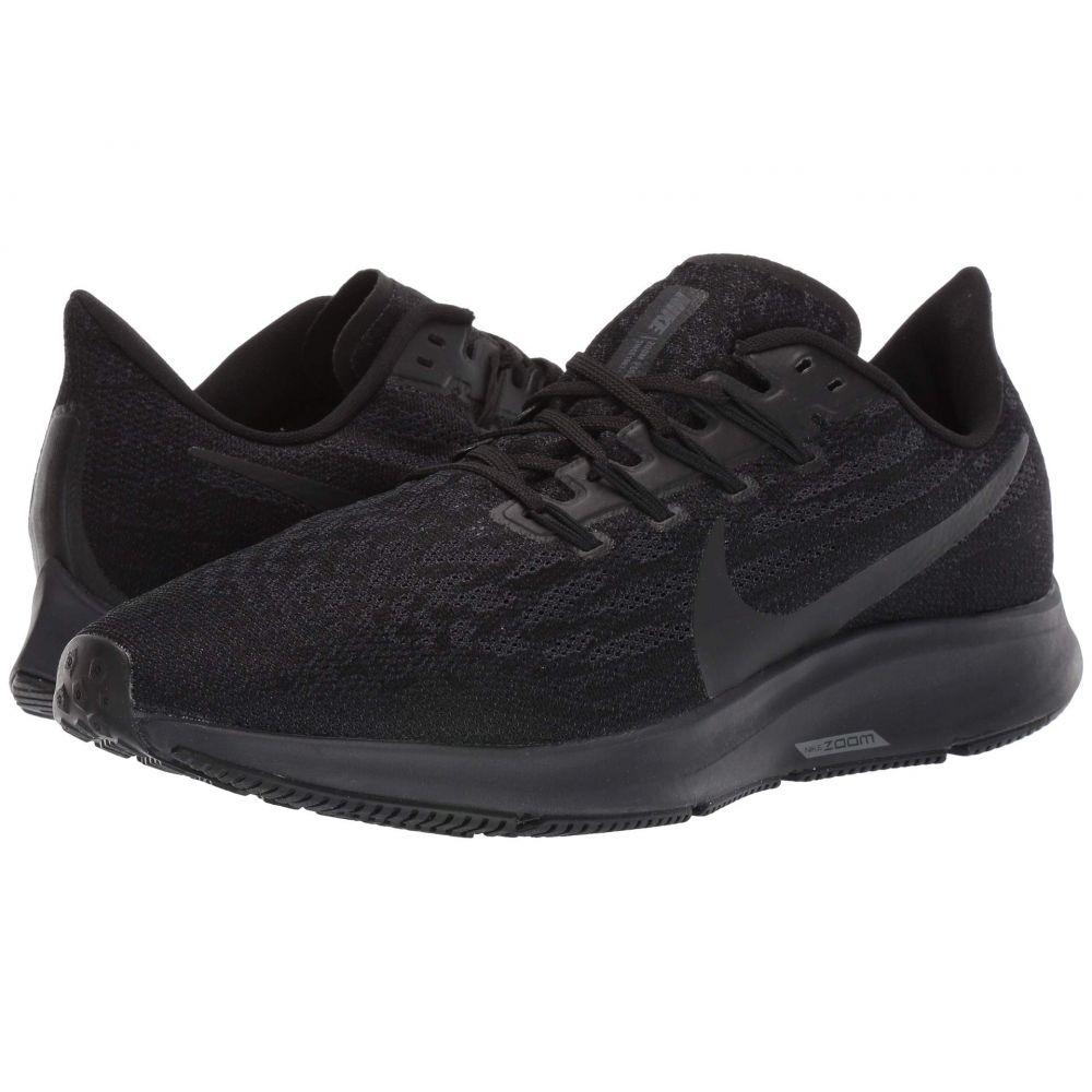 ナイキ Nike メンズ ランニング・ウォーキング エアズーム シューズ・靴【Air Zoom Pegasus 36】Black/Black/Oil Grey/Thunder Grey