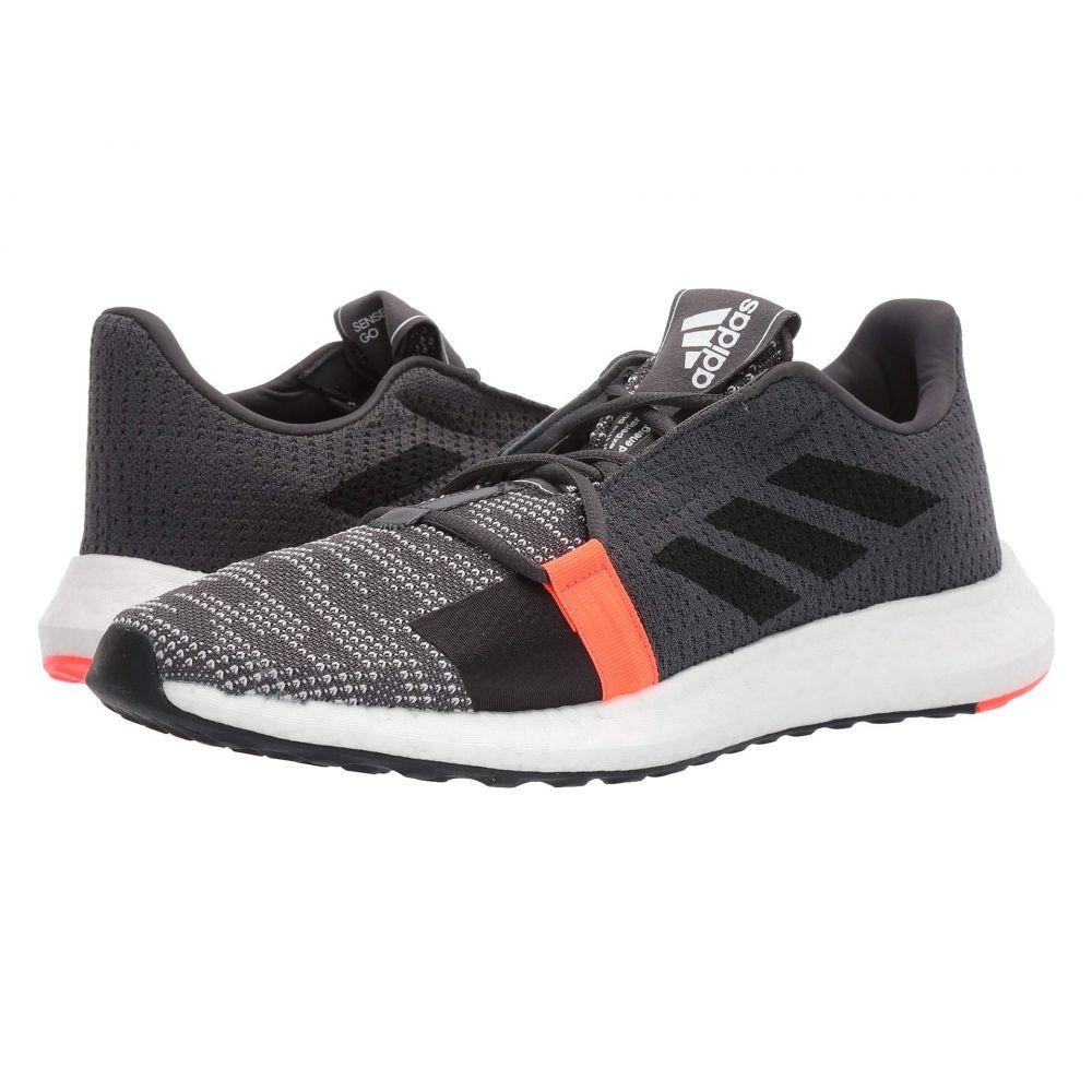 アディダス adidas Running メンズ ランニング・ウォーキング シューズ・靴【SenseBOOST GO】Grey Six/Core Black/Solar Red