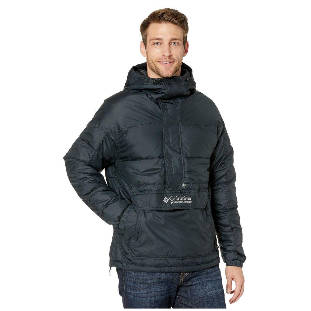 コロンビア Columbia メンズ ダウン・中綿ジャケット アウター【Lodge Pullover Jacket】Black/Columbia Grey
