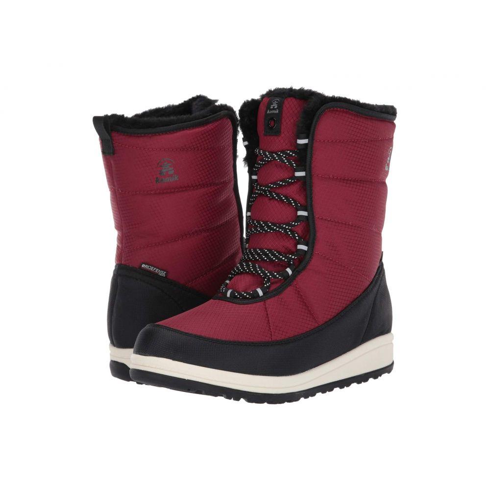 カミック Kamik レディース ブーツ シューズ・靴【Bianca】Red
