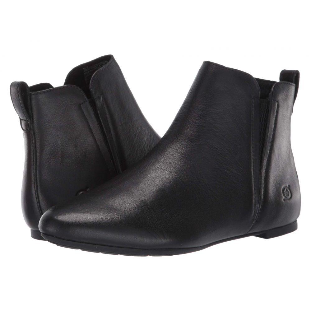 ボーン Born レディース ブーツ シューズ・靴【Remo】Black Full Grain Leather