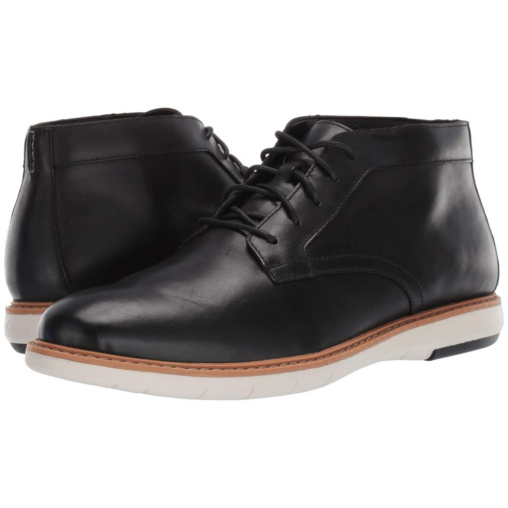 クラークス Clarks メンズ ブーツ シューズ・靴【Draper Mid】Black Leather