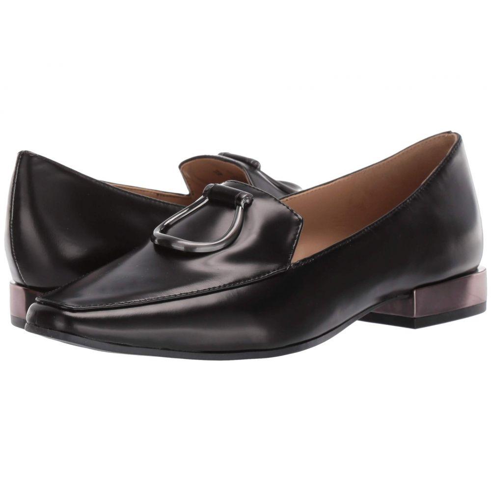 ナチュラライザー Naturalizer レディース ローファー・オックスフォード シューズ・靴【Corrine】Black Brush Off Leather