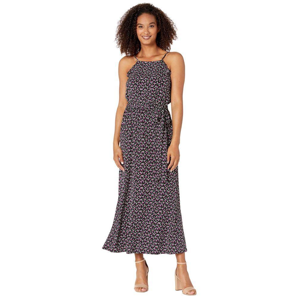 シーシー CeCe レディース ワンピース ノースリーブ マキシ丈 ワンピース・ドレス【Sleeveless Marrakesh Lace Disty Maxi Dress】Rich Black