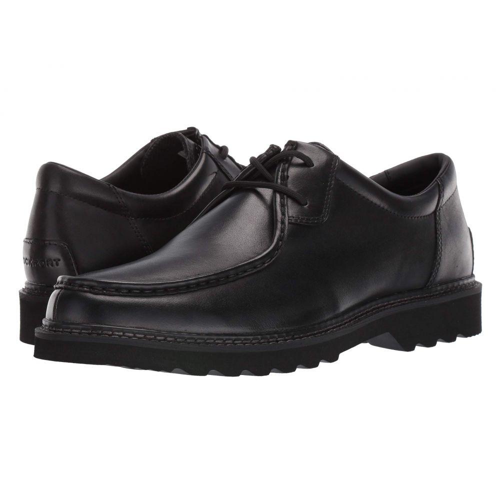 ロックポート Rockport メンズ 革靴・ビジネスシューズ シューズ・靴【Peirson 2-Eye Tie】Black Brush Off Leather