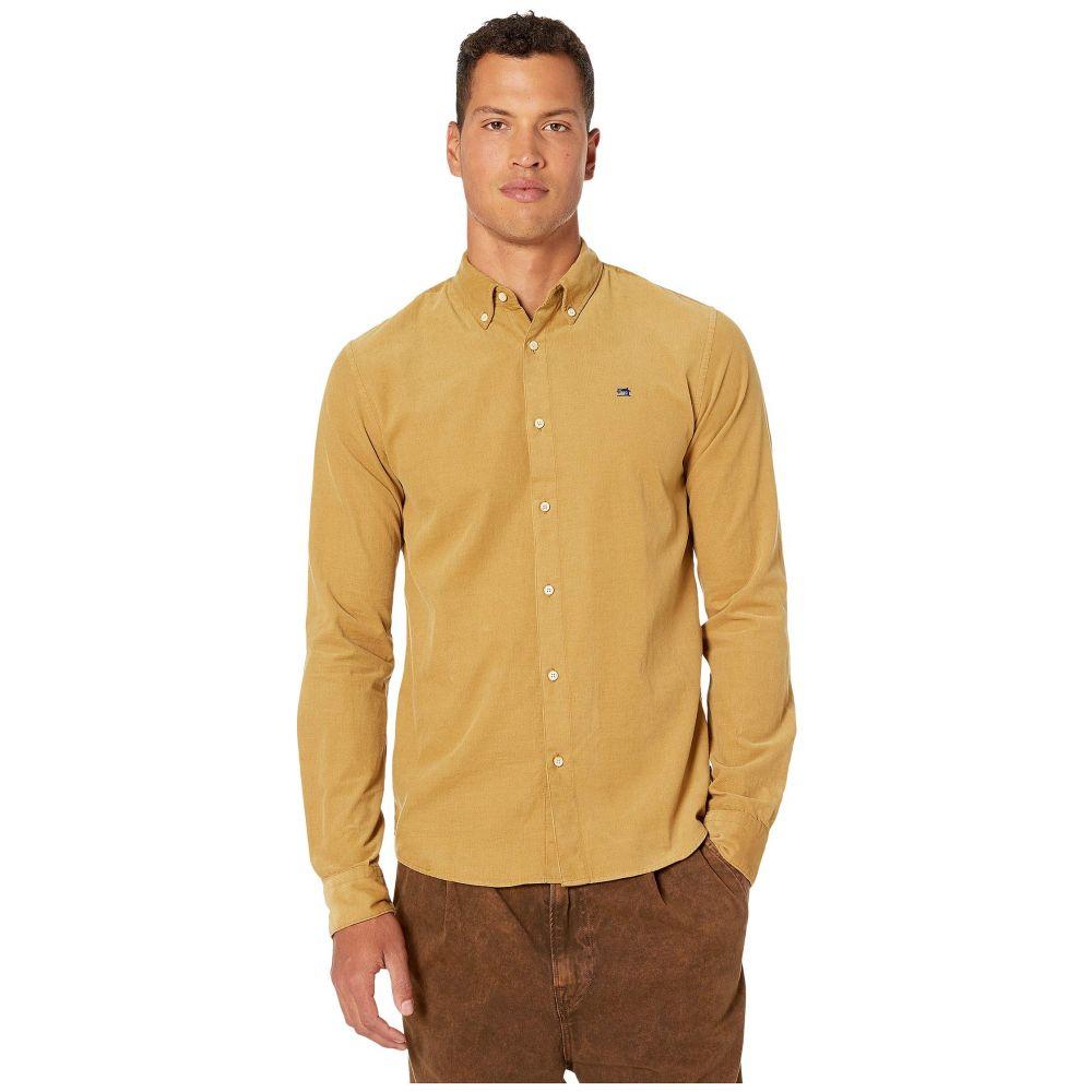 スコッチ&ソーダ Scotch & Soda メンズ シャツ トップス【Corduroy Shirt Regular Fit】Sand