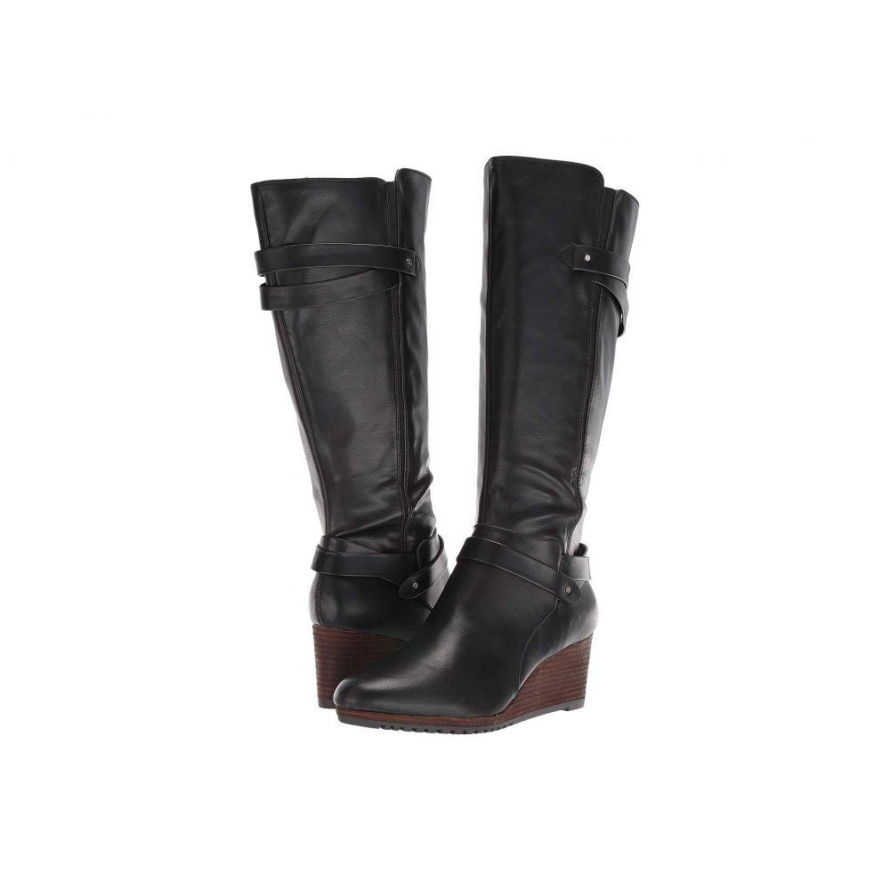 ドクター ショール Dr. Scholl's レディース ブーツ シューズ・靴【Check It Wide Calf】Black