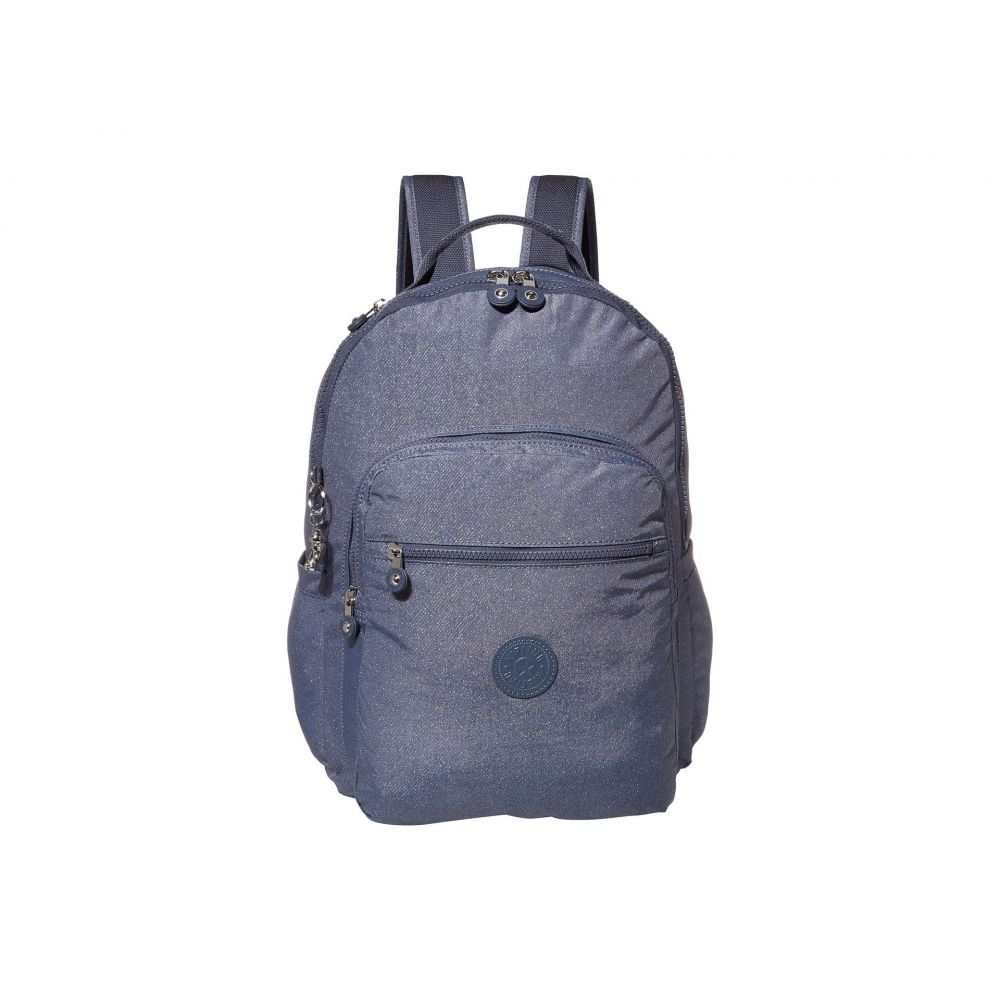 キプリング Kipling レディース パソコンバッグ バックパック バッグ【Seoul Laptop Backpack】Navy Blue Galaxy Twist