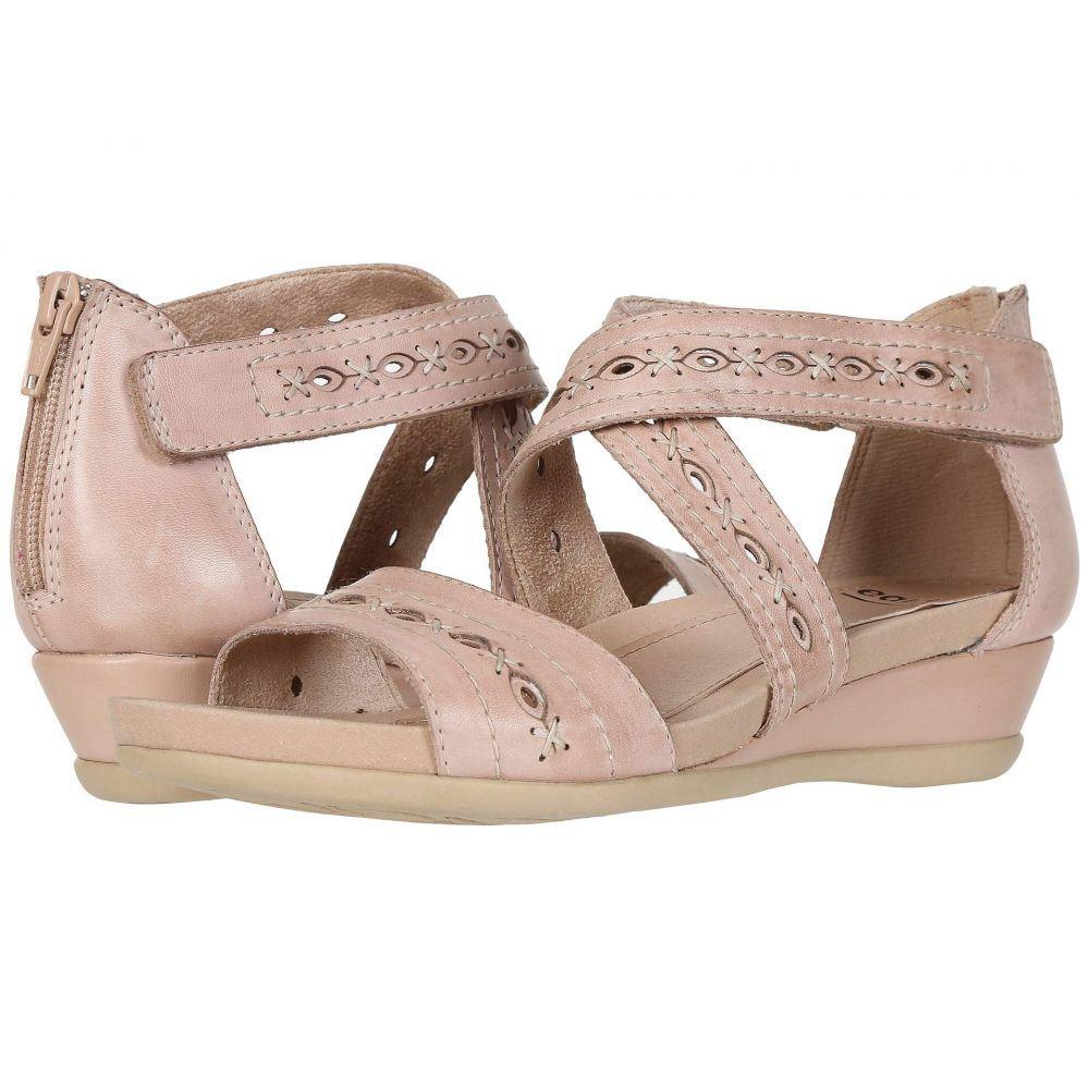 カルソーアースシューズ Earth レディース サンダル・ミュール シューズ・靴【Hyannis】Dusty Pink Ecco Calf
