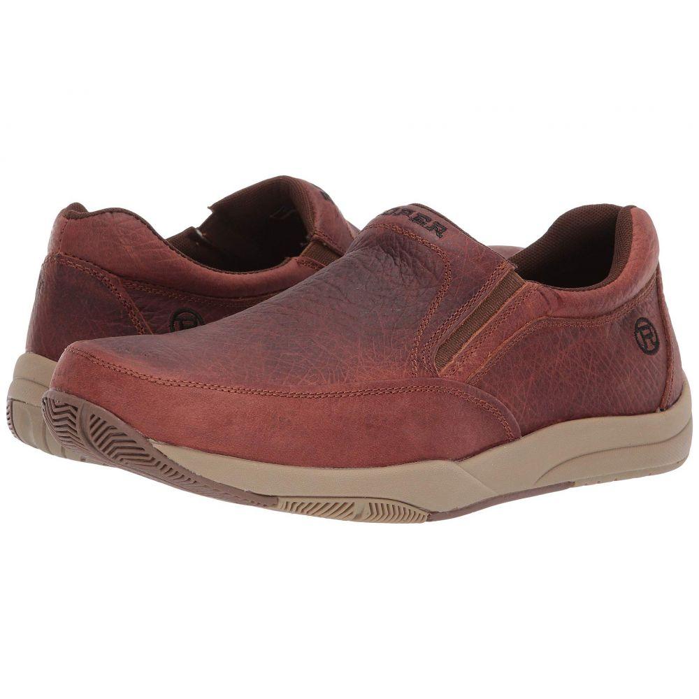 ローパー Roper メンズ ローファー シューズ・靴【Ulysses】Tan Tumbled Leather