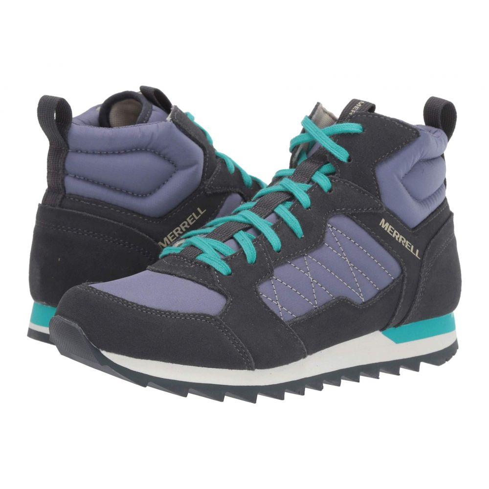 メレル Merrell レディース ハイキング・登山 スニーカー シューズ・靴【Alpine Sneaker Mid】Velvet/Ebony