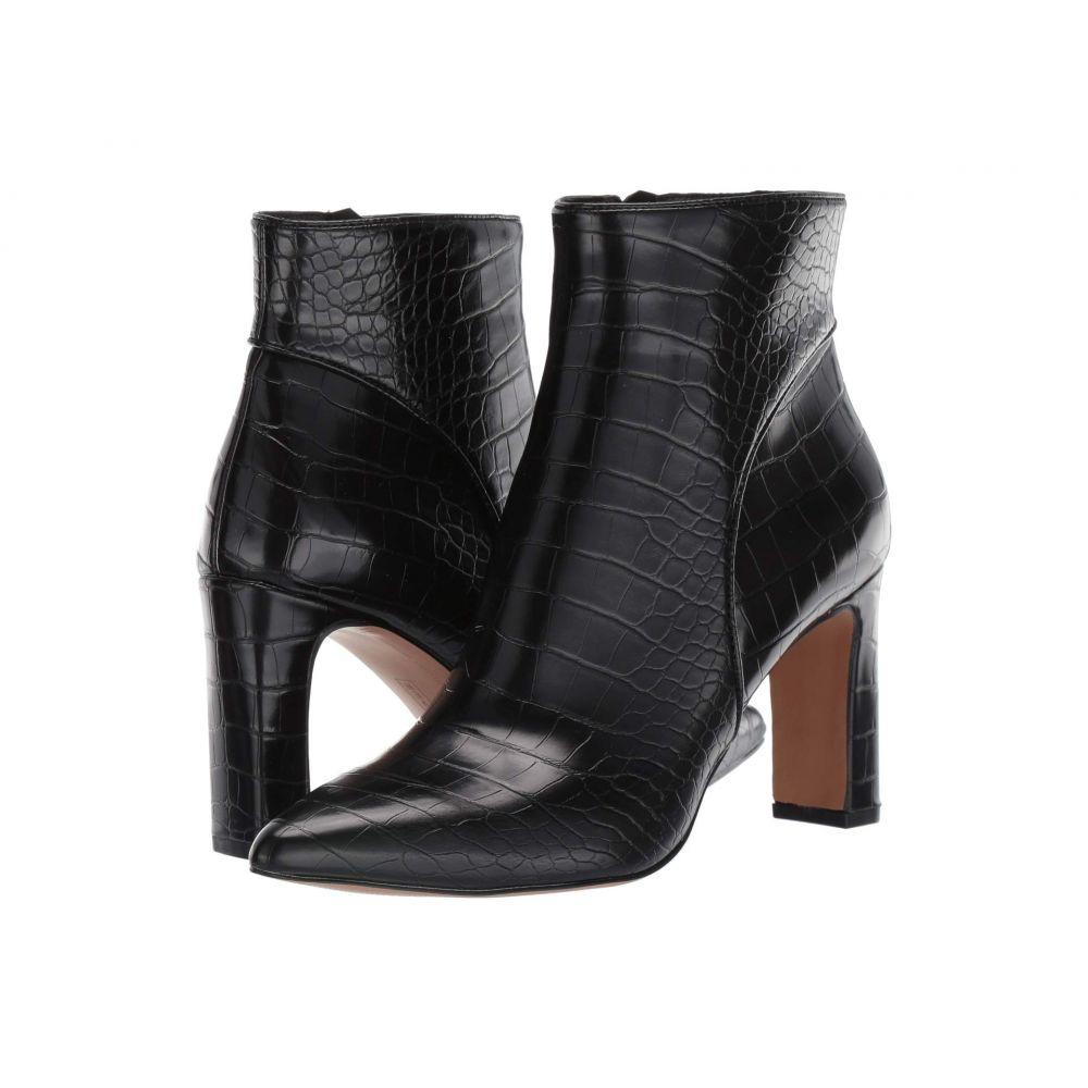 スティーブン ニューヨーク STEVEN NEW YORK レディース ブーツ シューズ・靴【Jenn】Black Croco