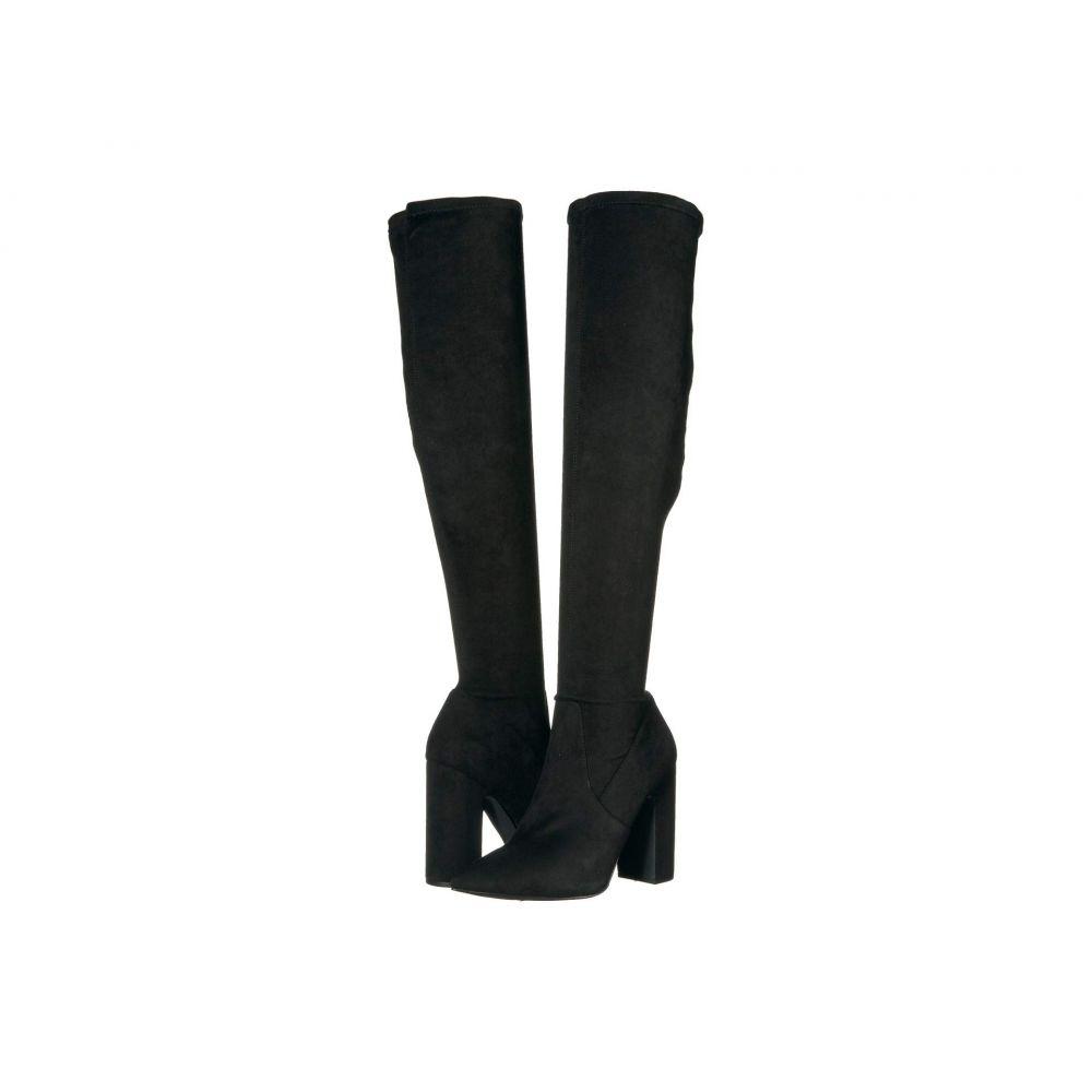 スティーブ マデン Steve Madden レディース ブーツ ロングブーツ ニーハイブーツ シューズ・靴【Gorgeena Over the Knee Boot】Black