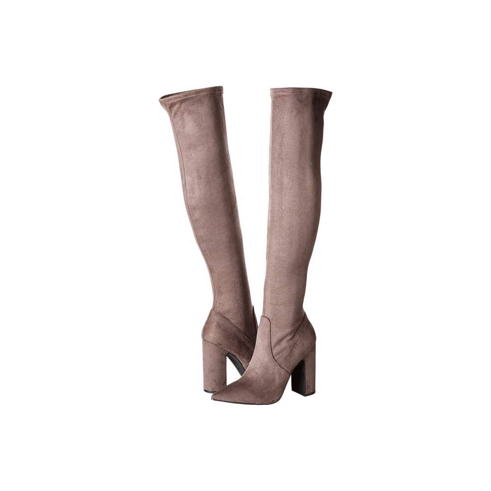 スティーブ マデン Steve Madden レディース ブーツ ロングブーツ ニーハイブーツ シューズ・靴【Gorgeena Over the Knee Boot】Dark Grey