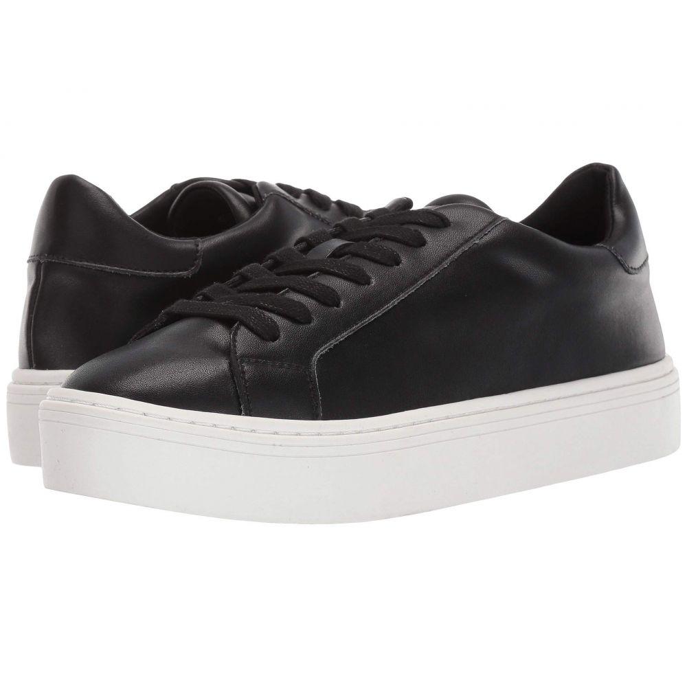 スティーブン ニューヨーク STEVEN NEW YORK レディース スニーカー シューズ・靴【Bass】Black Leather