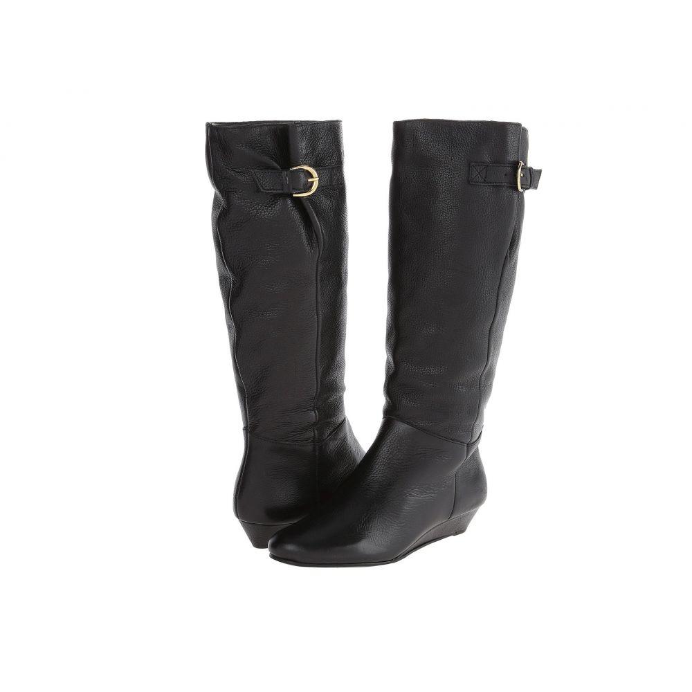 スティーブン ニューヨーク STEVEN NEW YORK レディース ブーツ シューズ・靴【Intyce Wide Calf】Black Leather