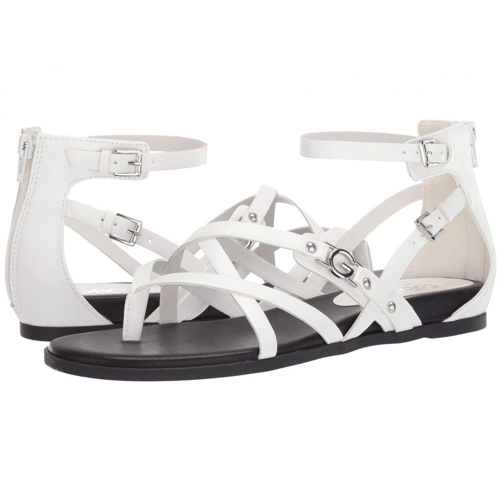 GBG ロサンゼルス GBG Los Angeles レディース サンダル・ミュール シューズ・靴【Camrin】White
