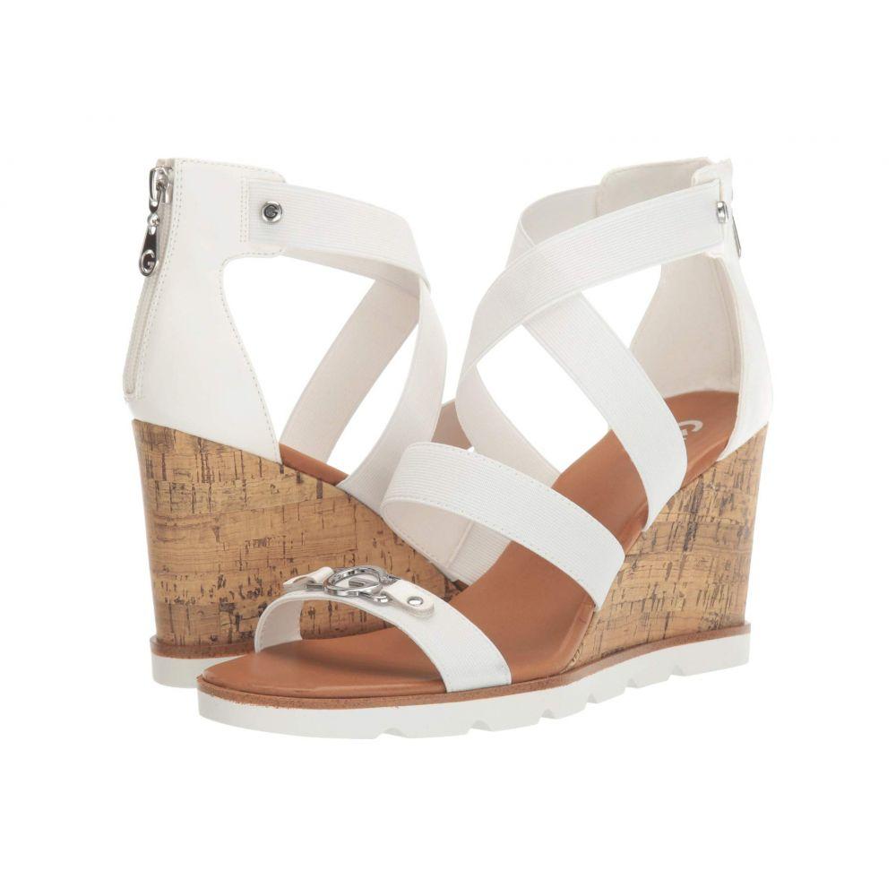 GBG ロサンゼルス GBG Los Angeles レディース サンダル・ミュール シューズ・靴【Roxan】White