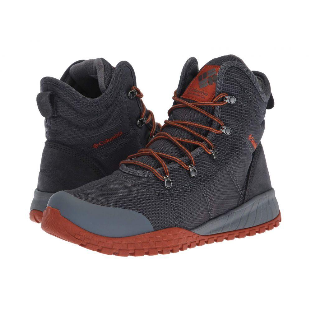 コロンビア Columbia メンズ ブーツ シューズ・靴【Fairbanks Omni-Heat】Graphite/Dark Adobe