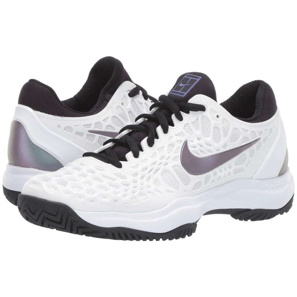 ナイキ Nike レディース シューズ・靴 【Zoom Cage 3 HC】White/Bright Violet/Psychic Purple