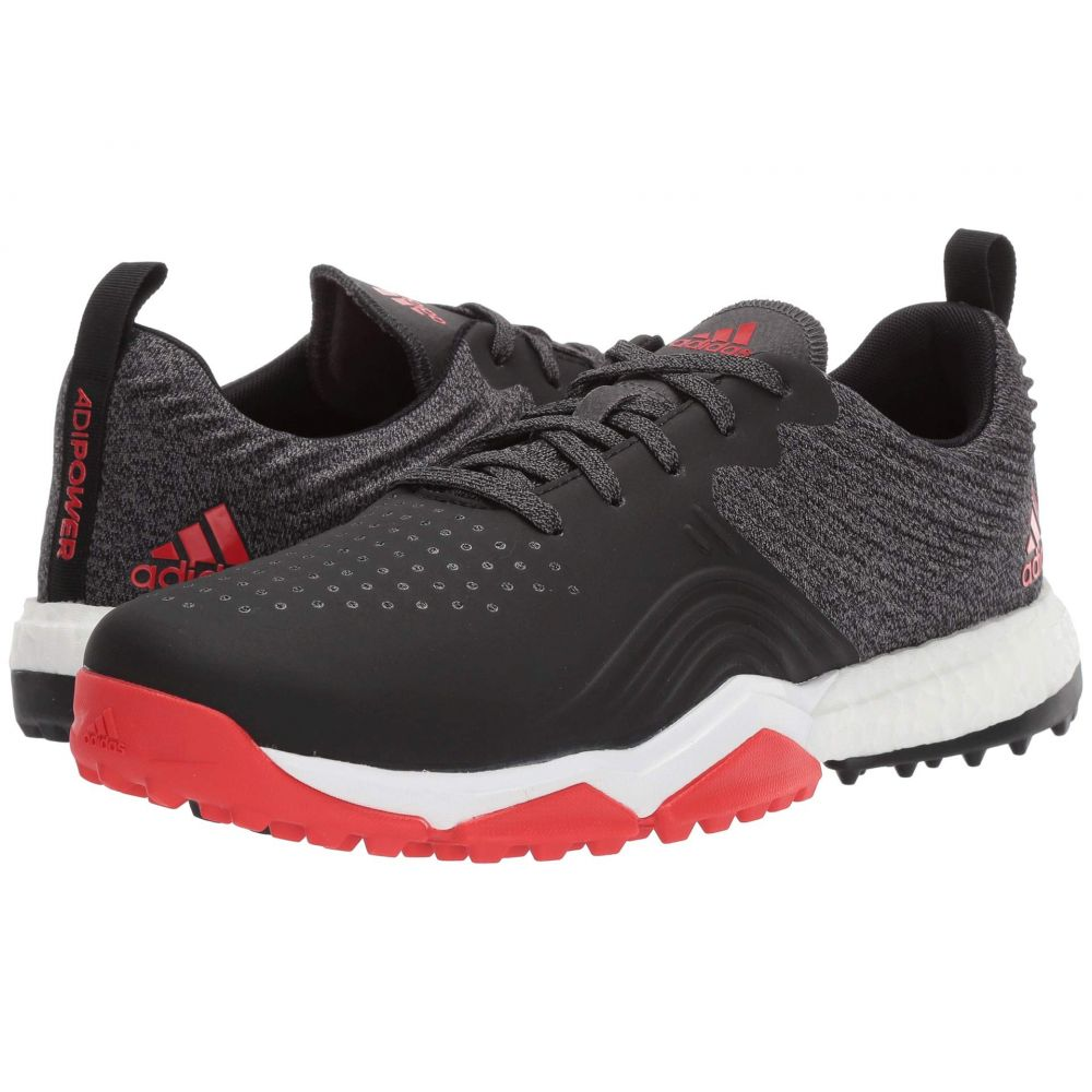 アディダス adidas Golf メンズ シューズ・靴 【adiPower 4orged S】Black/Red/White