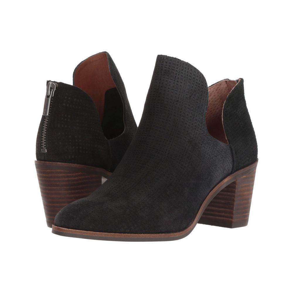 ラッキーブランド Lucky Brand レディース ブーツ シューズ・靴【Powe】Black Suede Leather