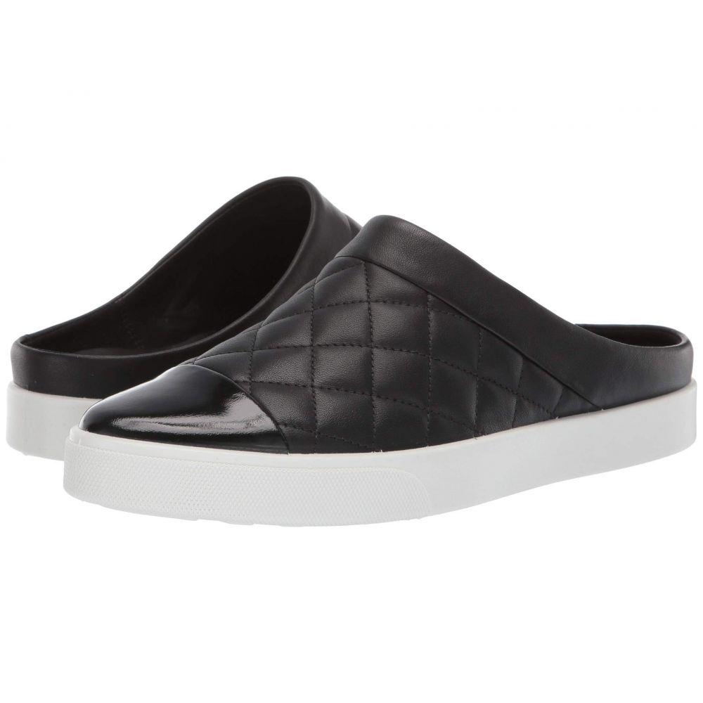 エコー ECCO レディース スニーカー シューズ・靴【Gillian Quilted Slide】Black/Black Cow Leather/Cow Leather