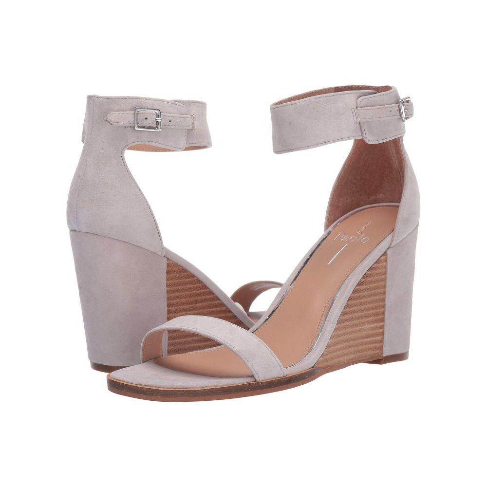 リネアパウロ LINEA Paolo レディース サンダル・ミュール ウェッジソール シューズ・靴【Elodie Wedge Sandal】Pale Grey Suede