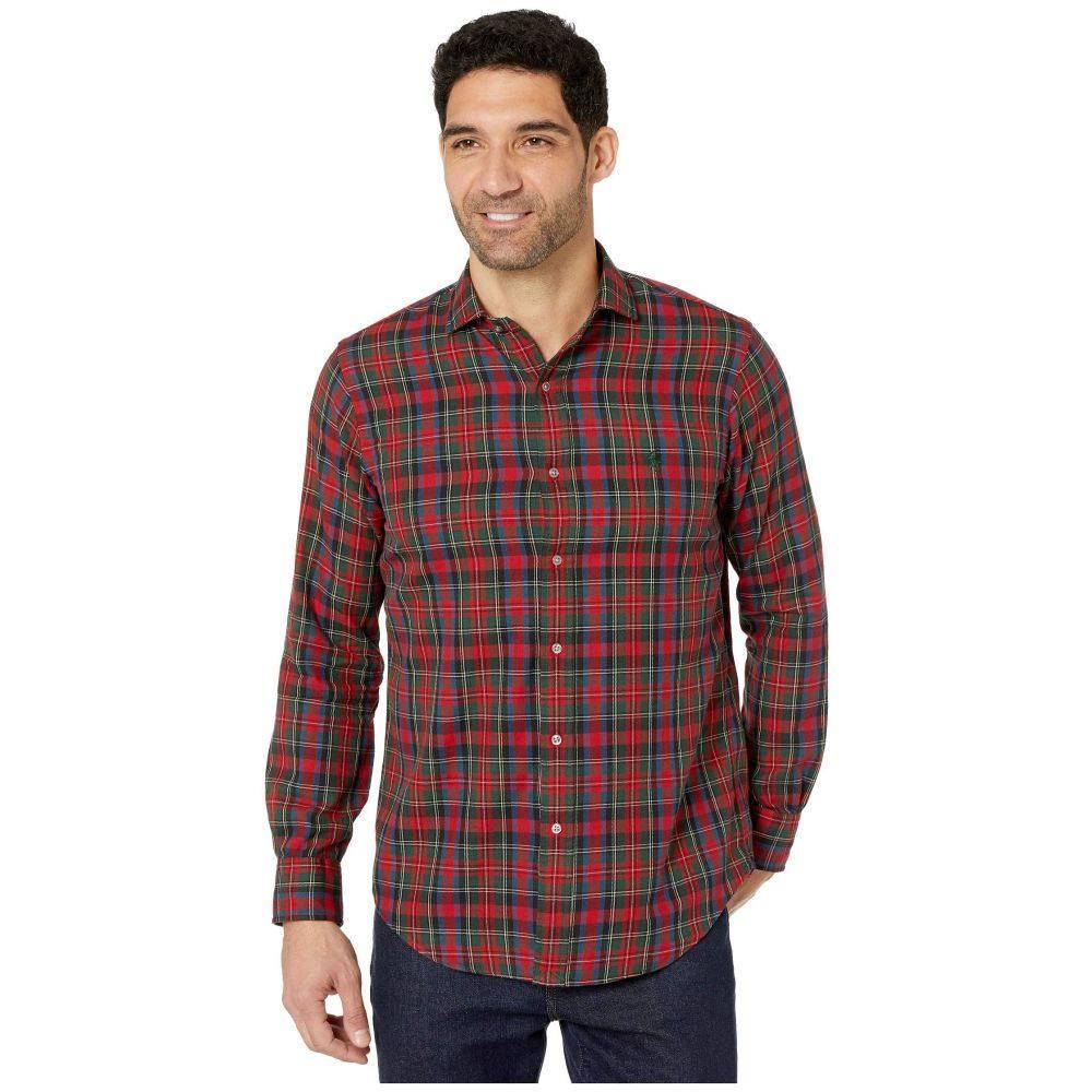 ラルフ ローレン Polo Ralph Lauren メンズ シャツ トップス【Classic Fit Long Sleeve Brushed Twill Shirt】Brick/Teal Multi