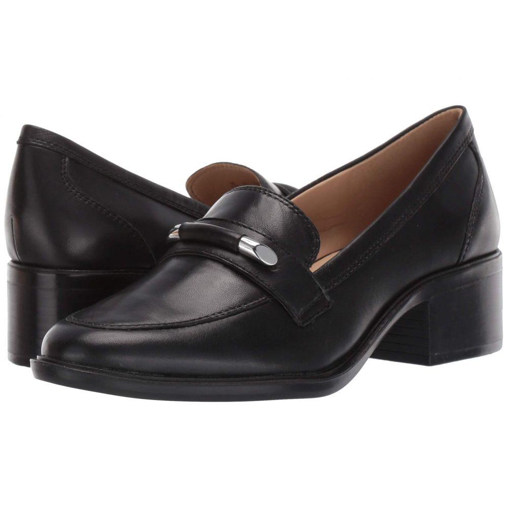 ナチュラライザー Naturalizer レディース ローファー・オックスフォード シューズ・靴【Perla】Black Leather