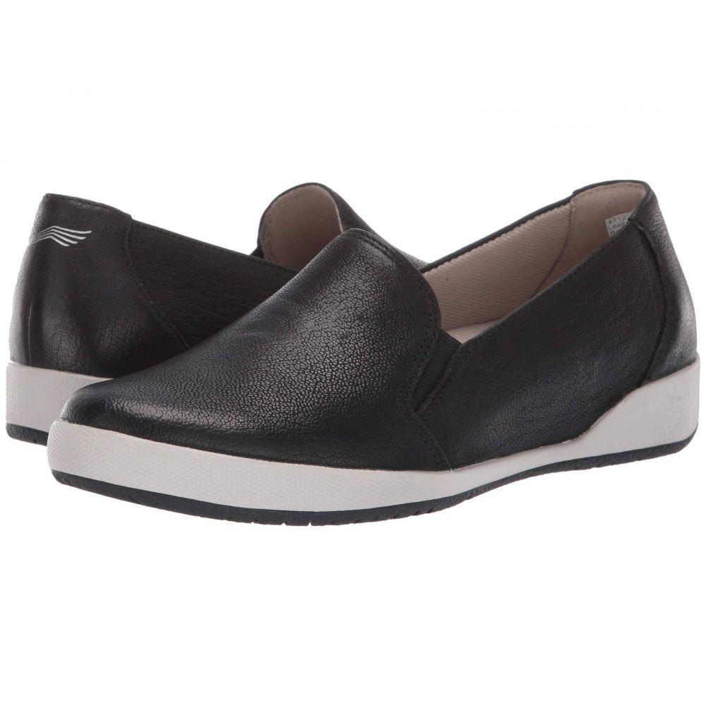 ダンスコ Dansko レディース スニーカー シューズ・靴【Odina】Black Textured Nubuck