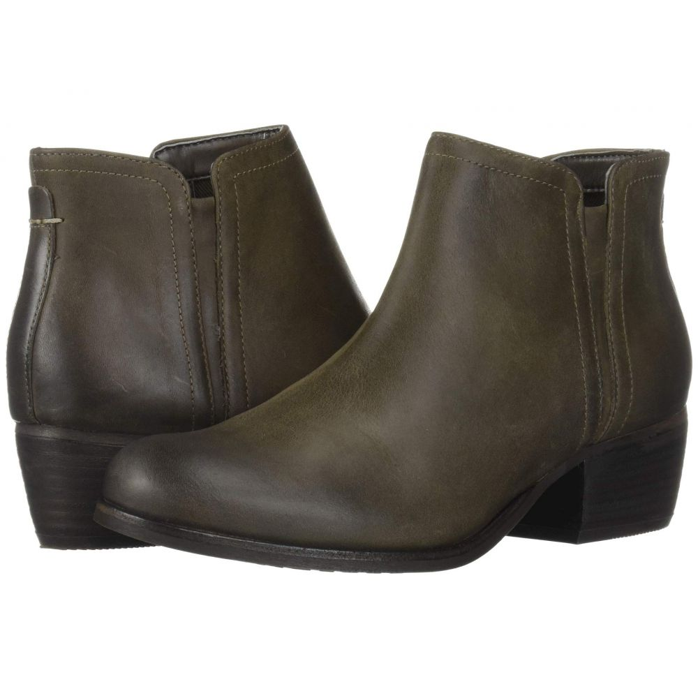 クラークス Clarks レディース ブーツ シューズ・靴【Maypearl Ramie】Olive Leather
