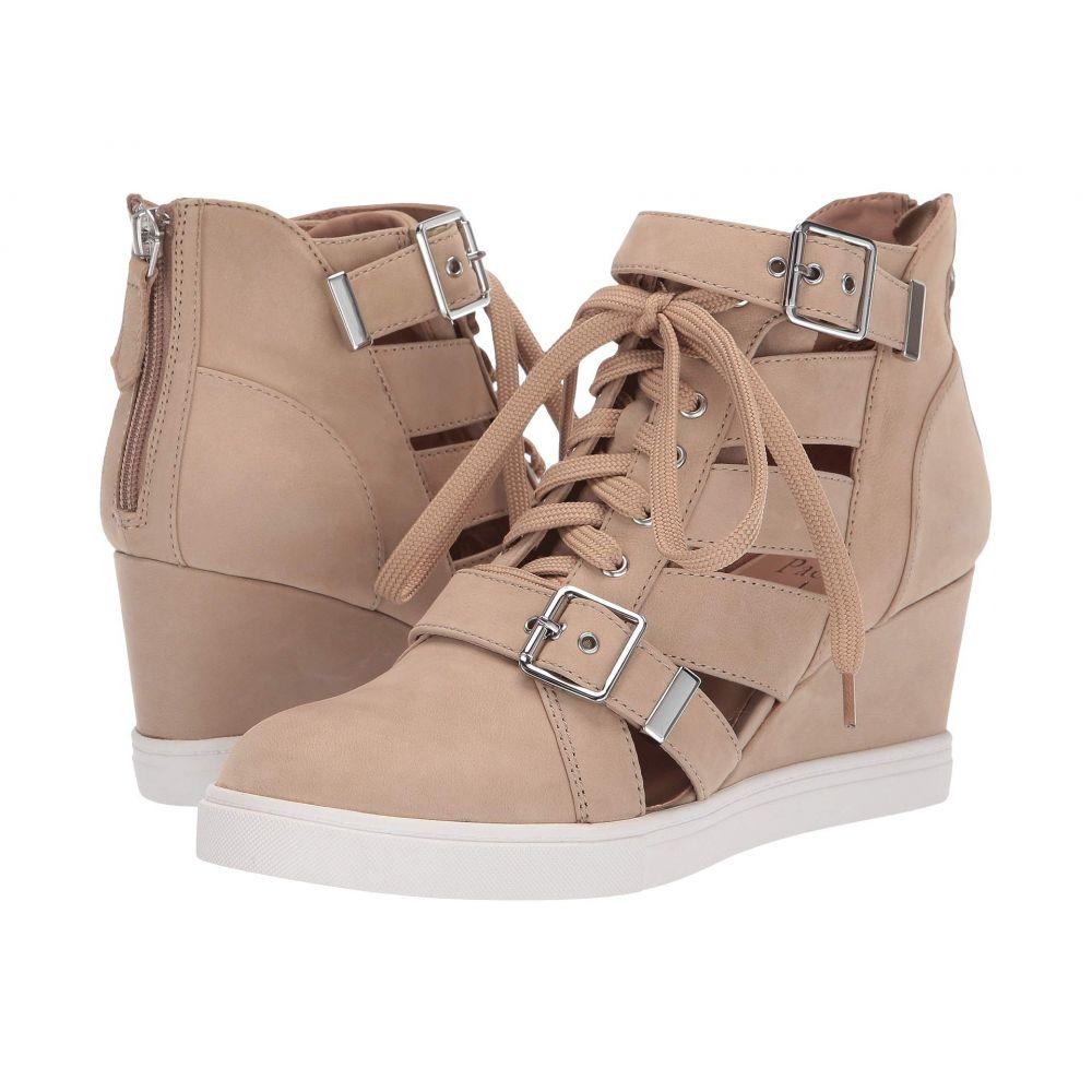 リネアパウロ LINEA Paolo レディース スニーカー ウェッジソール シューズ・靴【Fave Wedge Sneaker】Sand Nubuck Leather