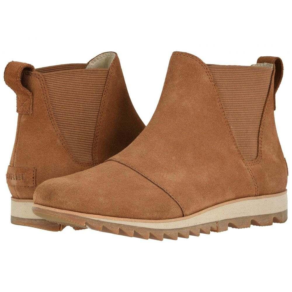 ソレル SOREL レディース ブーツ シューズ・靴【Harlow Chelsea】Camel Brown