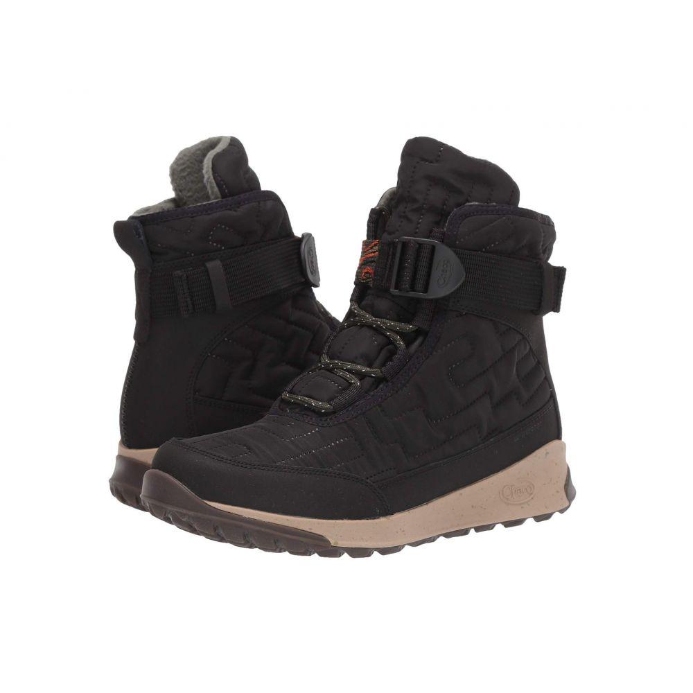 チャコ Chaco レディース ブーツ シューズ・靴【Borealis Quilt】Black