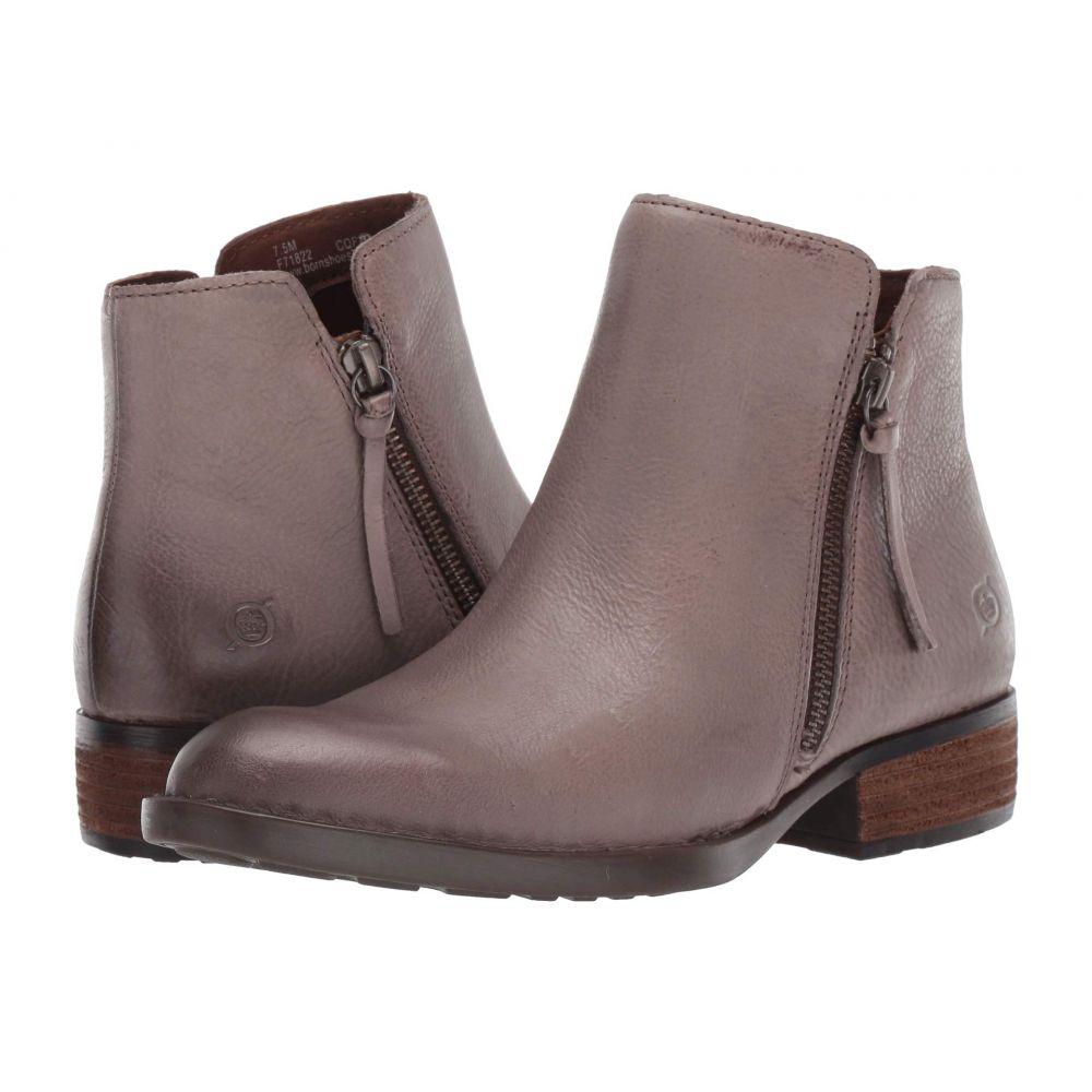 ボーン Born レディース ブーツ シューズ・靴【Olio】Grey Full Grain Leather