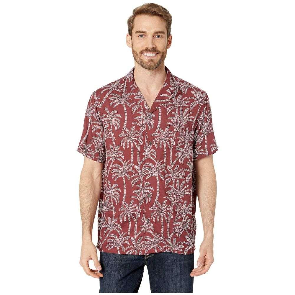 レインスプーナー Reyn Spooner メンズ シャツ トップス【Loulu Rayon Camp Shirt】Oxblood Red