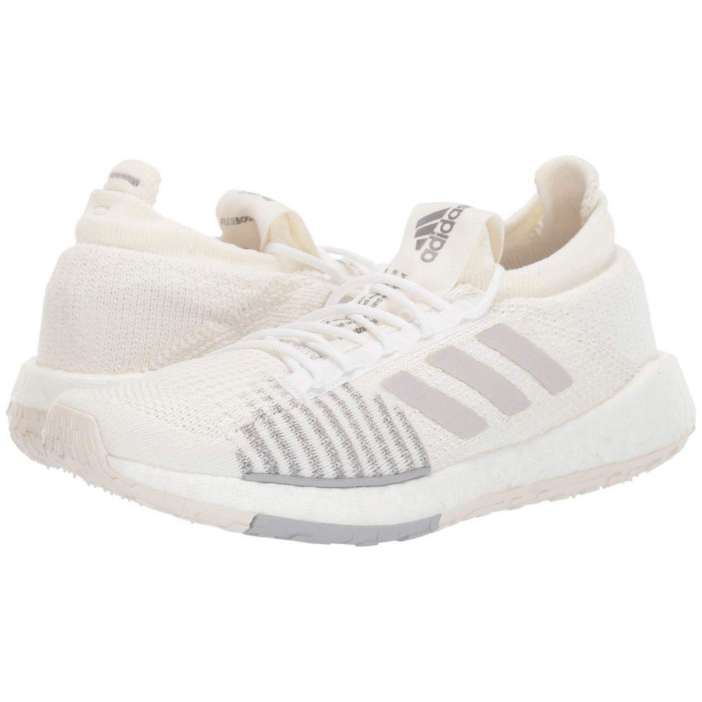 アディダス adidas Running レディース ランニング・ウォーキング シューズ・靴【PulseBOOST HD】White/Grey/White