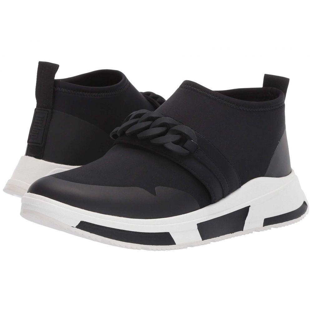 フィットフロップ FitFlop レディース スリッポン・フラット スニーカー シューズ・靴【Heda Chain Slip-On Sneaker】Black