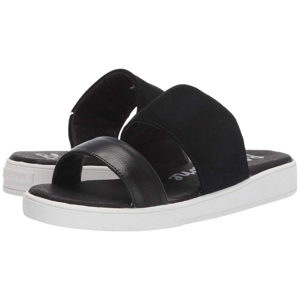 ブラックストーン Blackstone レディース サンダル・ミュール シューズ・靴【Slide 2 Strap - RL92】Black
